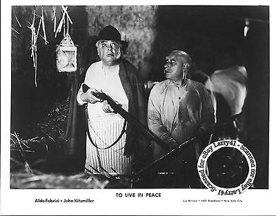 LOT of 3b, TO LIVE IN PEACE stills (1947) Italian WW II comedy-drama, aka Vivere