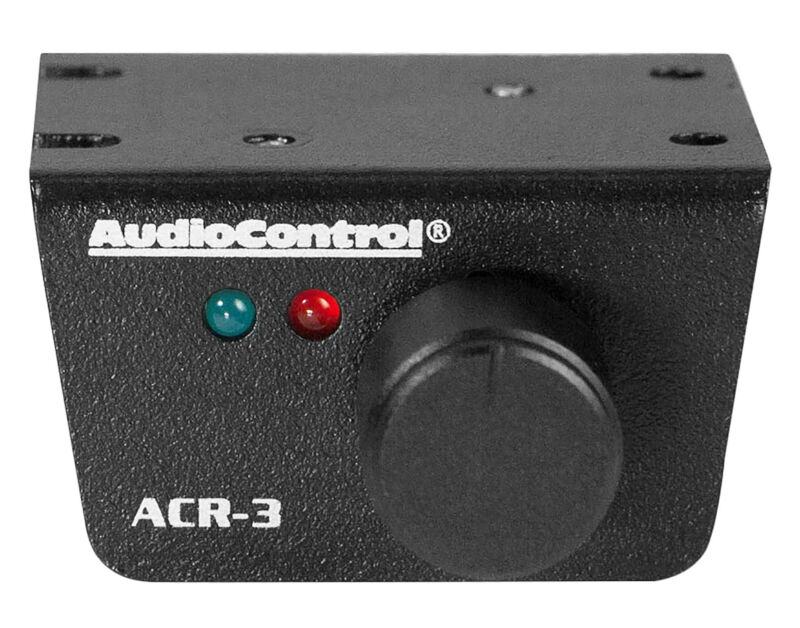 AudioControl ACR-3 Remote Level Control Knob For LC8i, DQ-61, DQDX