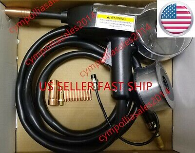 Us Seller Mig Spool Gun 10 For Eastwood Mig 135175250 Mp 250i Aluminum Wire