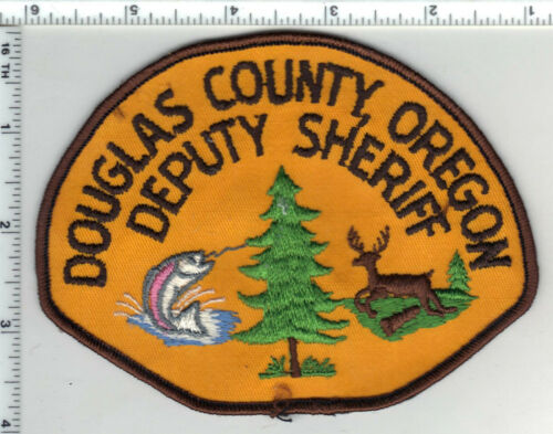 Douglas County Sheriff (Oregon) 2nd Issue Shoulder Patch