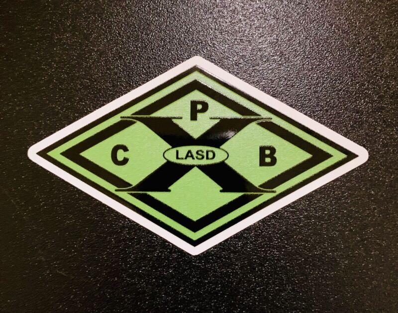 """Los Angeles County Sheriff Dept """"COPS"""" Outdoor/Indoor Vinyl Decal/Sticker"""