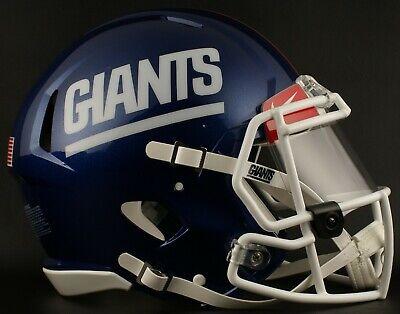 9c6e065f6 NEW YORK GIANTS NFL Football Helmet with Nike CLEAR Visor   Eye Shield