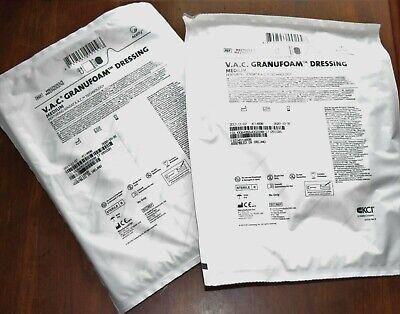 Kci V.a.c. Granufoam Dressing Wound Vac Medium M82750525 Exp 10-2020 Lot Of 2