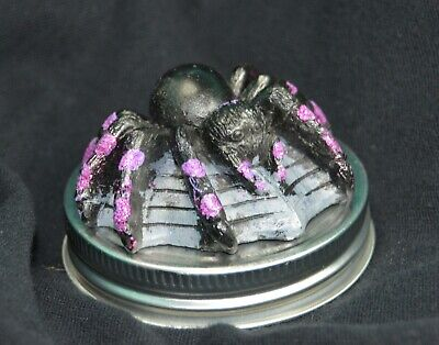 Halloween  SPIDER 'small mouth' Mason Jar Lid