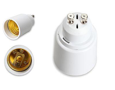 Casquillo Adaptador Conversor Convertidor GU10 para Bases E27 de Luz Luces 4406