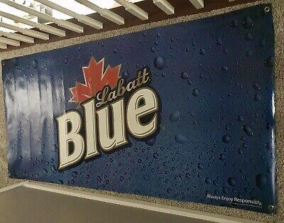 Labatt Blue Beer Large Wall Sign Promo Advertisement 72x36