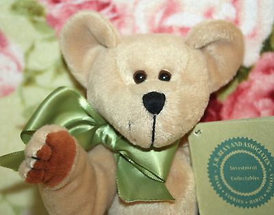 """NWT BOYDS PADDY MCDOODLE BABY BOYDS 9"""" BEAN BAG BEAR 1ST IN COLLECTION RETIRED"""