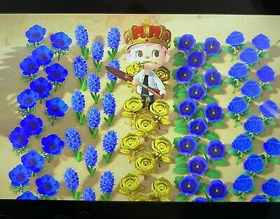 30x All Types Hybrid Flowers, Animal Crossing! You Choose! *Same Day Delivery*