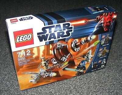 STAR WARS LEGO 9491 GEONOSIAN CANNON B-STOCK BRAND NEW SEALED