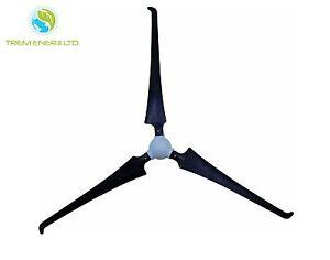 3x Rotorblätter SET Nabe + Nase Ø2,10m Flügel Windrad Windgenerator Windturbine