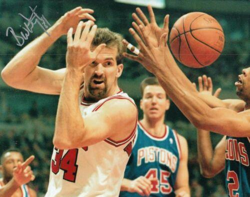 BILL WENNINGTON signed (CHICAGO BULLS) BASKETBALL *LAST DANCE* 8X10 W/COA #4