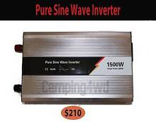Pure Sine Inverter 1500-3000w caravan camping power battery conve Craigie Joondalup Area Preview