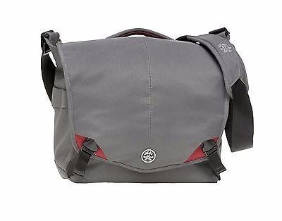 Crumpler 8 Million Dollar Home MD-08-9A Camera Bag Laptop bag(grey/red)