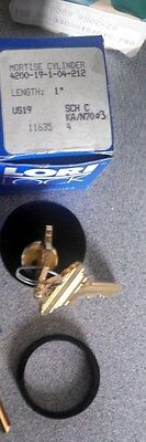 Locksmith One 1 Mortise Cyl Made Usa Bar Stock 1 Us19 Dark Bronze Ka2