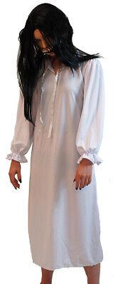 Patient Gown Costume (Halloween Horror Doll Zombie Sleepwalker Patient Nightie Nightdress)