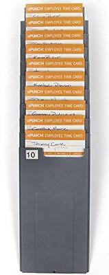 Upunch Hntcr10 Time Card Rack Gray