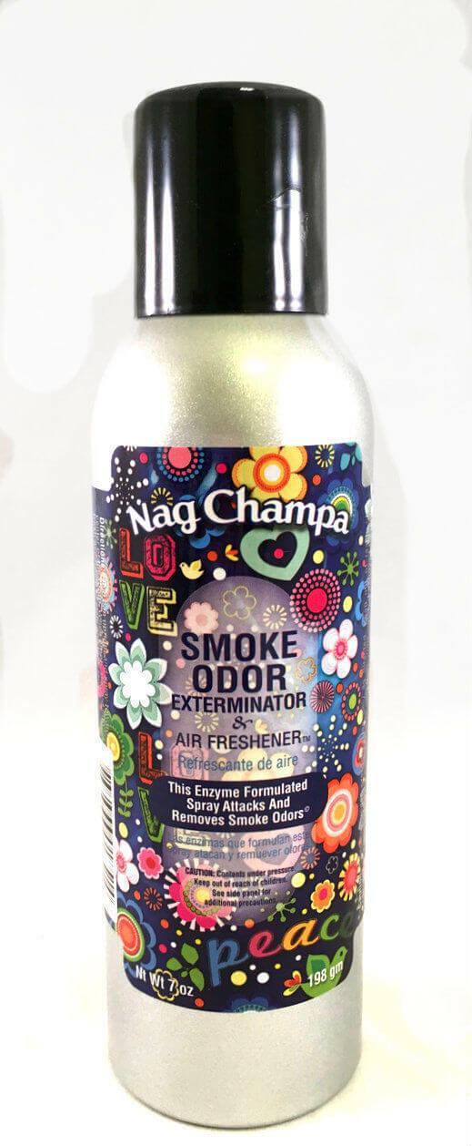 Smoke Odor Exterminator Scent Air Freshener Spray 7oz Nag Ch