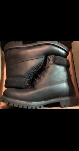 Timberland Boots All Black *leather**