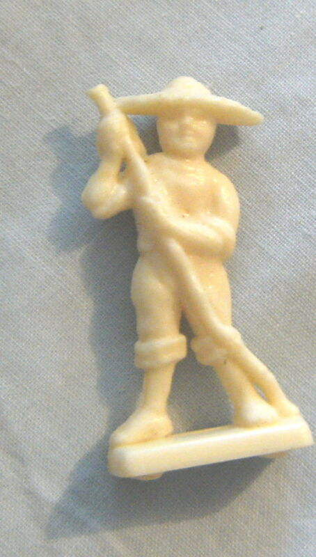 1973 SANITARIUM CEREAL FOOD TOY - MINI EXOTIC NATIONAL COSTUMES - JAPAN