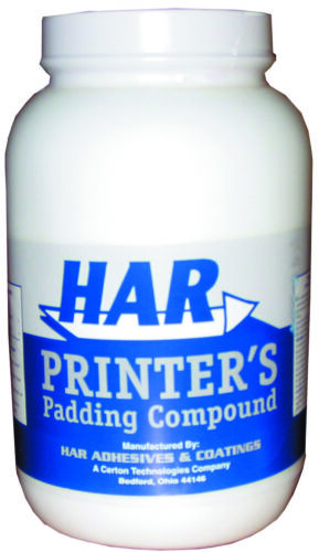 HAR Padding Compound White for Making Notebooks - Gallon   8113