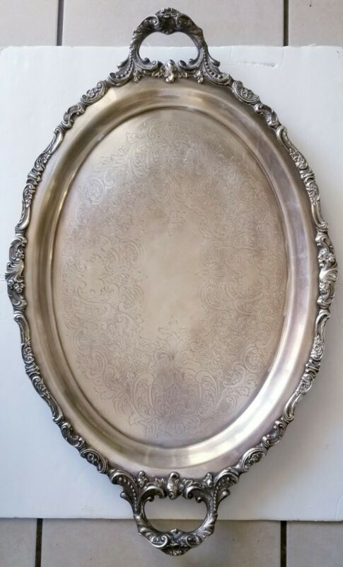 Baroque By Wallace Footed Waiter