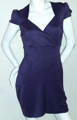 Ladies Guess Formal Knee Length Purple Mauve Plumb Dress Size 8 (Plumb Dress)