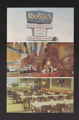 1972 pmk Wolfie's Restaurant Bakery Fountain Cocktail Lounge Sandwich Shop FL pc for sale  Shipping to United Kingdom