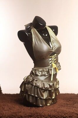 Female Display Black Glossy Mannequin Torsodress Form Life Size- Bs-11h