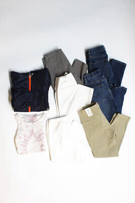 Crewcuts Il Gufo Childrens Boys Jeans Grey Blue Size 8 10 LOT 7
