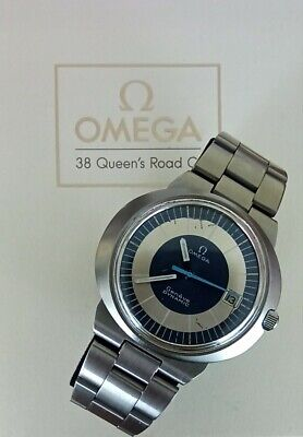 VINTAGE OMEGA GENEVE DYNAMIC GENTS WATCH WORKING, RARE 1969 VERSION, MANUAL WIND