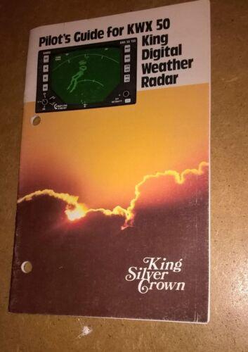Allied Signal Bendix King KWX 50 Weather Radar Pilot's Guide Manual KWX50