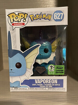 Funko Pop 2021 Pokemon Diamond Collection VAPOREON #627 Vinyl NEW SEALED