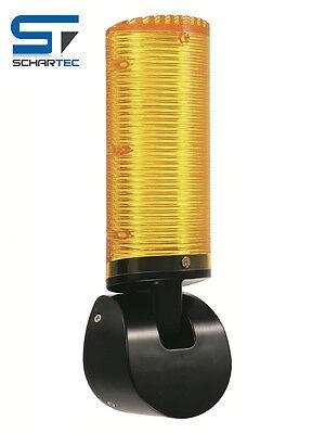 Schartec Signalleuchte gelb 24 V Torantrieb  Warnleuchte Warnlicht Blinkleuchte