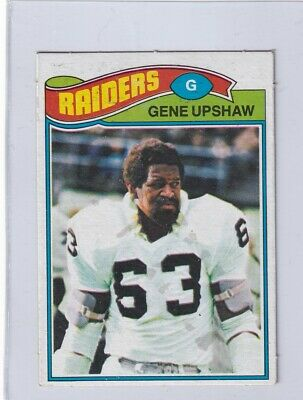 fad4cdad2 1977 Topps Mexican # 415 GENE UPSHAW Raiders Kingsville stf