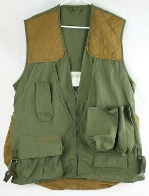 c10f294d43fab Gander Mountain Shooting/Hunting Vest -Hunter Green/Tan - Large