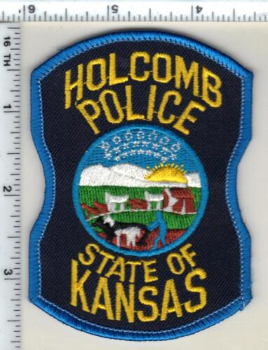 Holcomb Police (Kansas) Shoulder Patch - new from 1997
