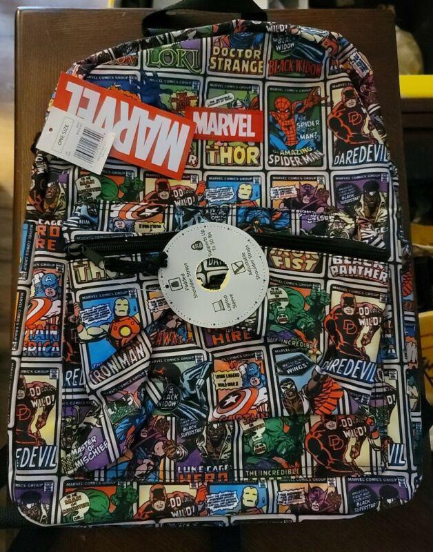 MARVEL Comics Avengers, Spider-Man Backpack Laptop Sleeve D3
