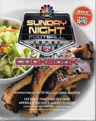 Nbc Sunday Night Football Cookbook  Hbwdj