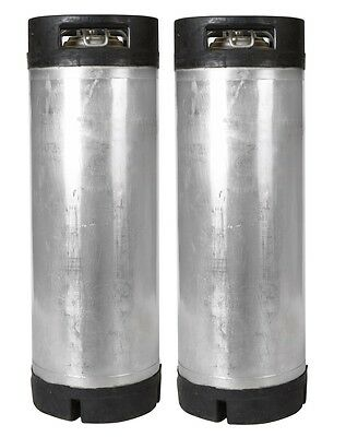 2 Pk 5 Gallon Ball Lock Kegs Reconditioned - Homebrew Beer Coffee - Ships Free