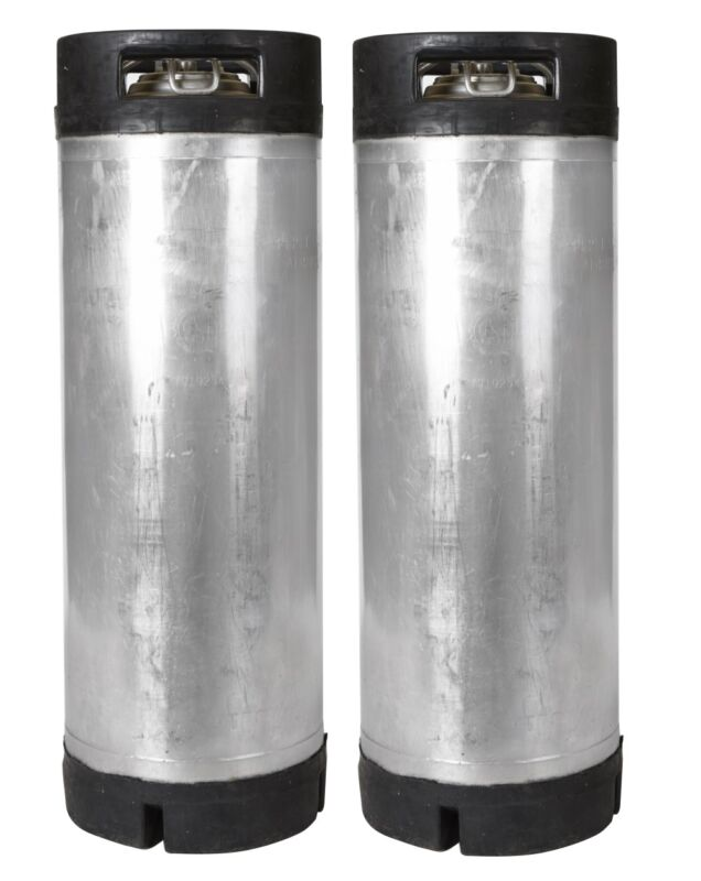 2 PK 5 Gallon Ball Lock Kegs Reconditioned - Homebrew Beer & Coffee - Ships Free