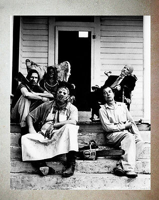 Texas Chainsaw Massacre Leatherface Hitchhiker Sawyer Family  Promo Photo