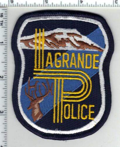 Lagrande Police (Oregon) 3rd Issue Shoulder Patch