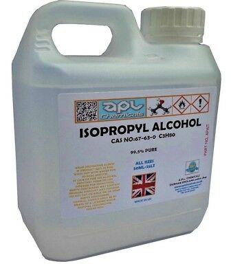 IPA Isopropyl Alcohol,Isopropanol - 500 ml PURE IPA RUBBING ALCOHOL 99.9% PURE