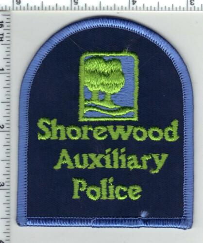 Shorewood Auxiliary Police (Wisconsin) 1st Issue Shoulder Patch