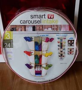 Shoe Organizer Smart Carousel Intake Brand New Homebush West Strathfield Area Preview