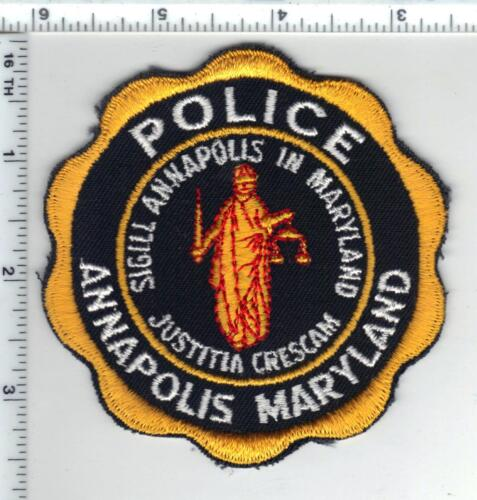 Annapolis Police (Maryland) Shoulder Patch - new from the 1980