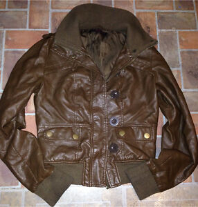 Brown jacket size women's small