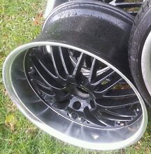 """CHEAP!!! x5 20"""" Staggered Deep Dish Versus Wheels w/tyres!!! Melton South Melton Area Preview"""