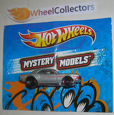 '68 Copo Camaro Grey Mystery Models Loose 2012 Hot Wheels F25