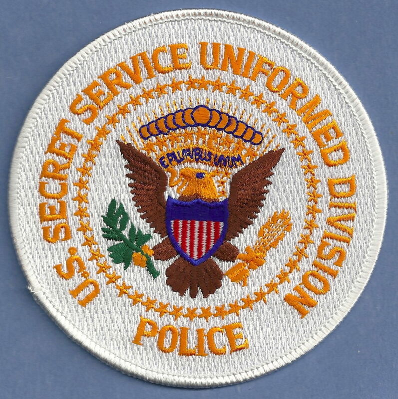 US SECRET SERVICE UNIFORM DIVISION POLICE SHOULDER PATCH